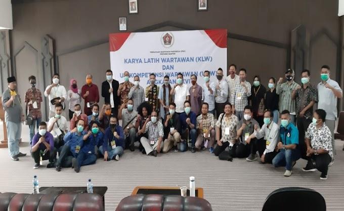 Lulus UKW 100 Persen, PWI Banten: Kompeten Bukan Sekedar Label