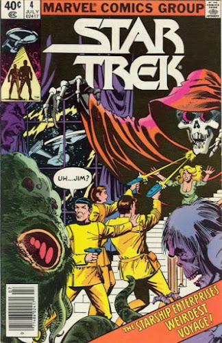 Star Trek #4, Marvel Comics
