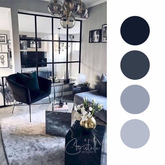 Ide inspiratif perpaduan warna soft furnishing rumah minimalis