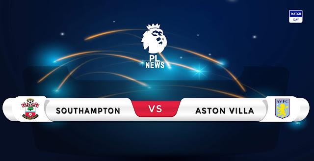 Southampton vs Aston Villa Prediction & Match Preview