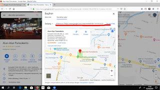 Cara Mudah Menambahkan Peta Google Ke Dalam Postingan Blog