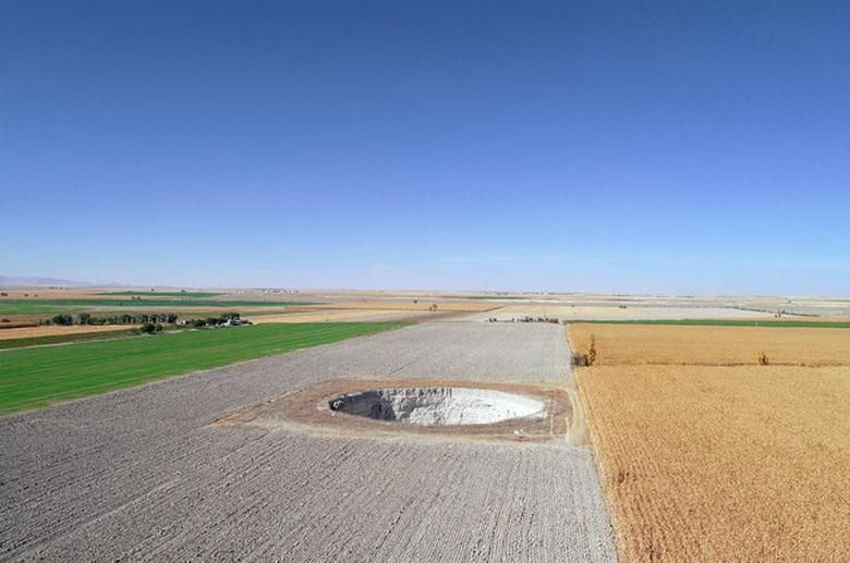 Huge sinkholes appeared in different places in Turkey