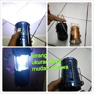 lampu emergency darurat/ lampu powerbank / solar lentera