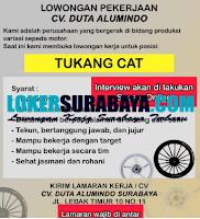 Info Loker Surabaya di CV. Duta Alumindo September 2020