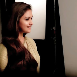 Keerthy Suresh: Keerthy Suresh in Saree with Cute and Lovely Smile in Ad Shoot