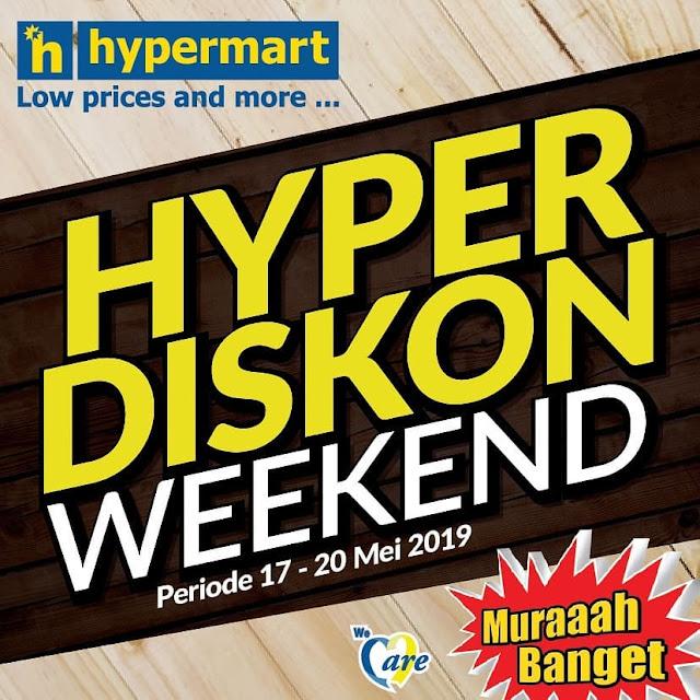 #Hypermart - #Promo #Katalog Weekend Periode 17 - 20 Mei 2019