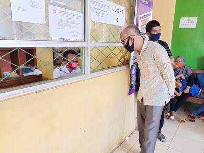 Sidak Ombudsman: Pelayanan Disdukcapil Lampung Timur Tidak Memadai