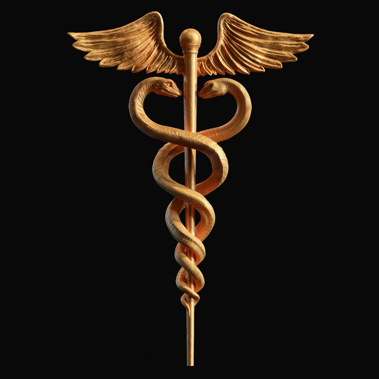 Caduceus,  Symbols and Meanings