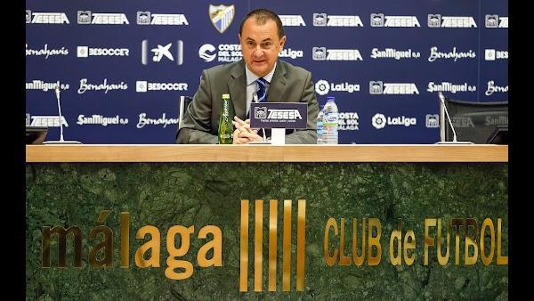 Málaga, José María Muñoz volverá a pedir un préstamo para finalizar la temporada