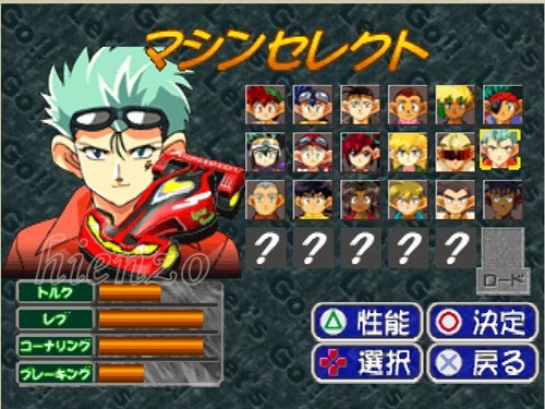 Bakusou Kyoudai Let's & Go PS1 Gameplay