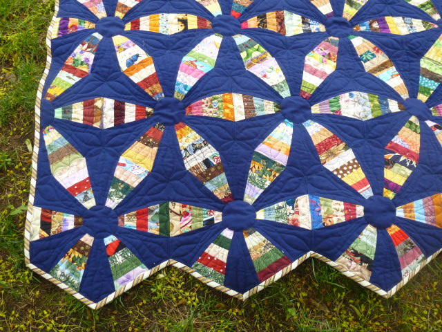 Eagles Wings Quilts Endless Chain Is Finished