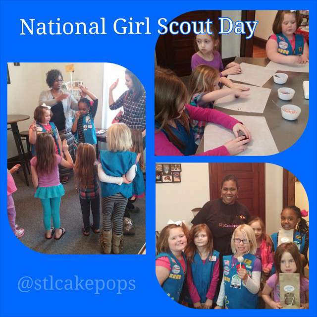 National Girl Scout Day Wishes Pics