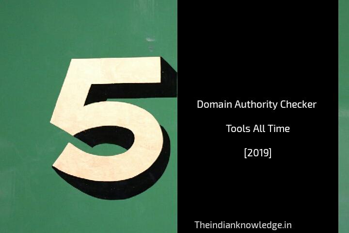 Domain authority checker tool