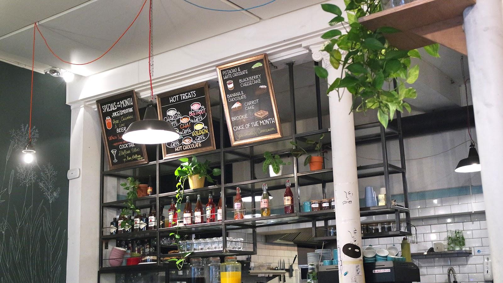 Inside Peck 47 café