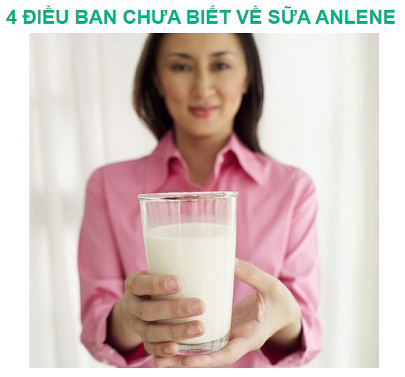 Anlenevn - 4 Things You Did Not Know About MILK Anlene