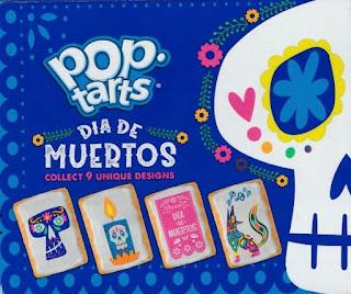 Back of Dia De Muertos Pop-Tarts box