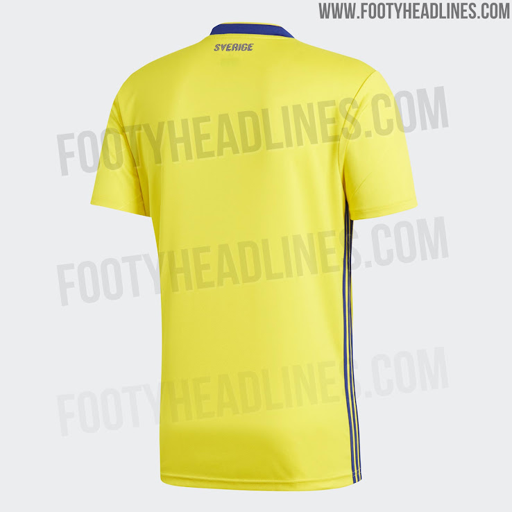 Sweden 2018 Home Kit Released