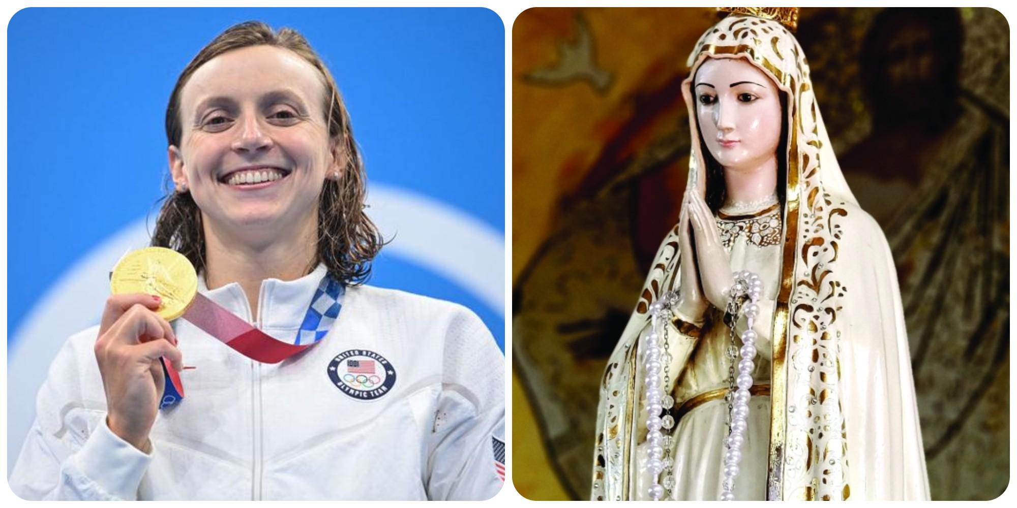 Katie Ledecky, Juara Dunia Renang yang Suka Doa Salam Maria Sebelum Lomba