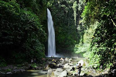 Alam yang asri di Air Terjun Nungnung - Backpacker Manyar