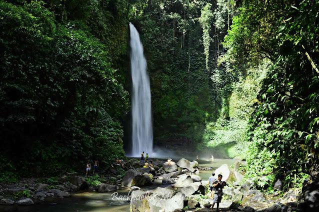 Alam yang asri di Air Terjun Nungnung Bali