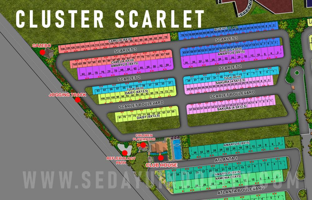 CLUSTER SCARLET PIK 2