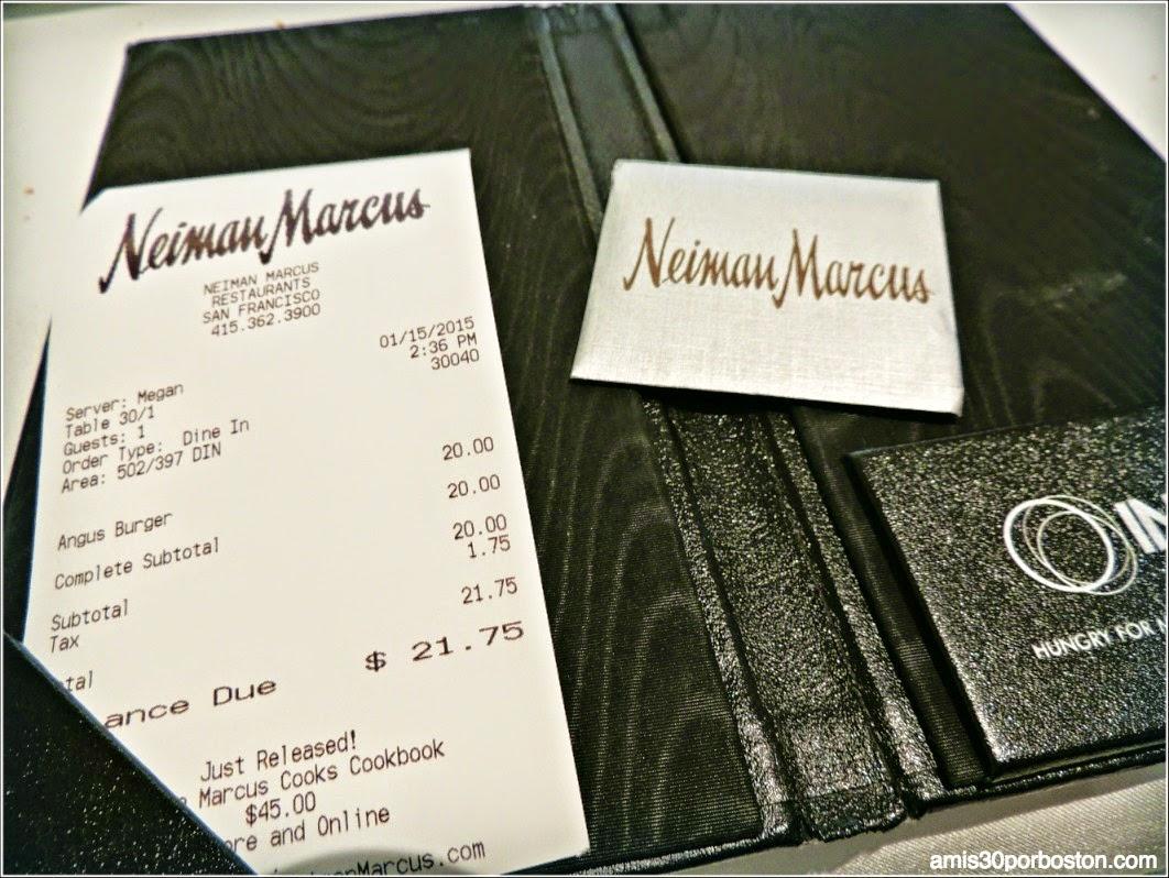 The Rotunda en Neiman Marcus: La Cuenta