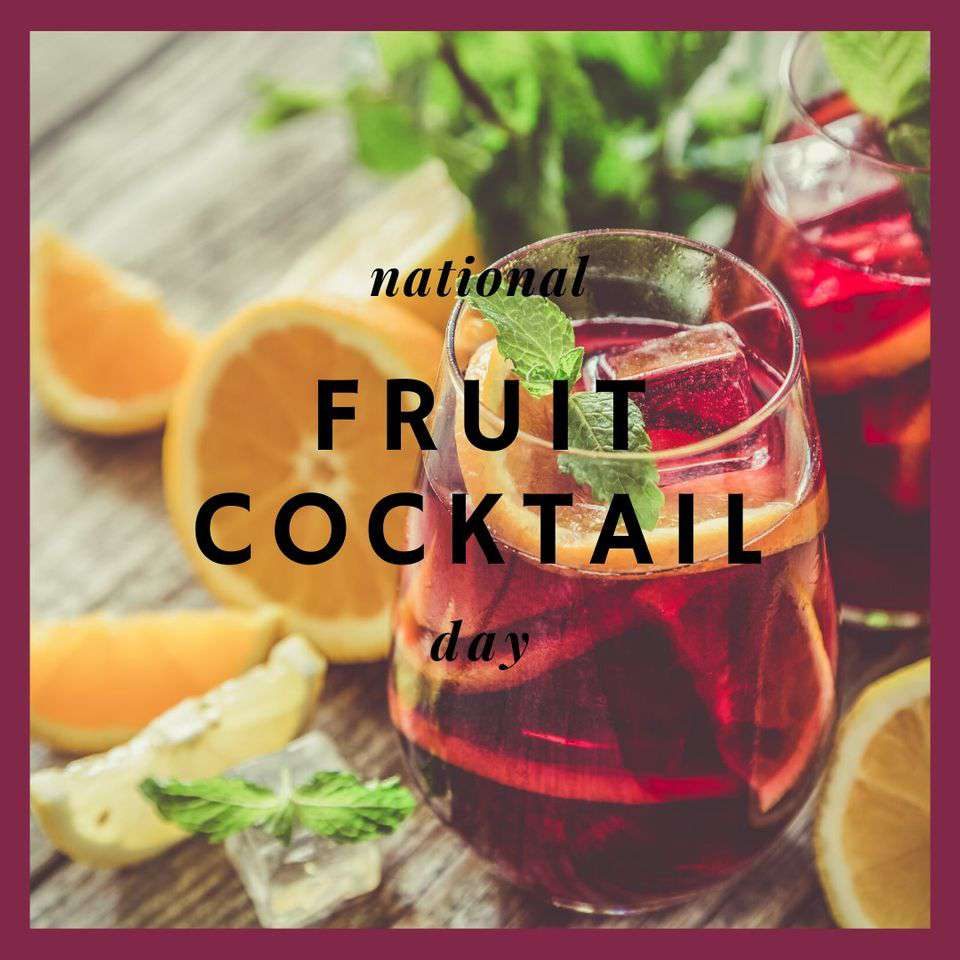 National Fruit Cocktail Day Wishes Unique Image