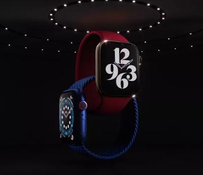 أعلنت شركة Apple عن Apple Watch Series 6 مع إمكانية قياس مستويات الأكسجين في الدم