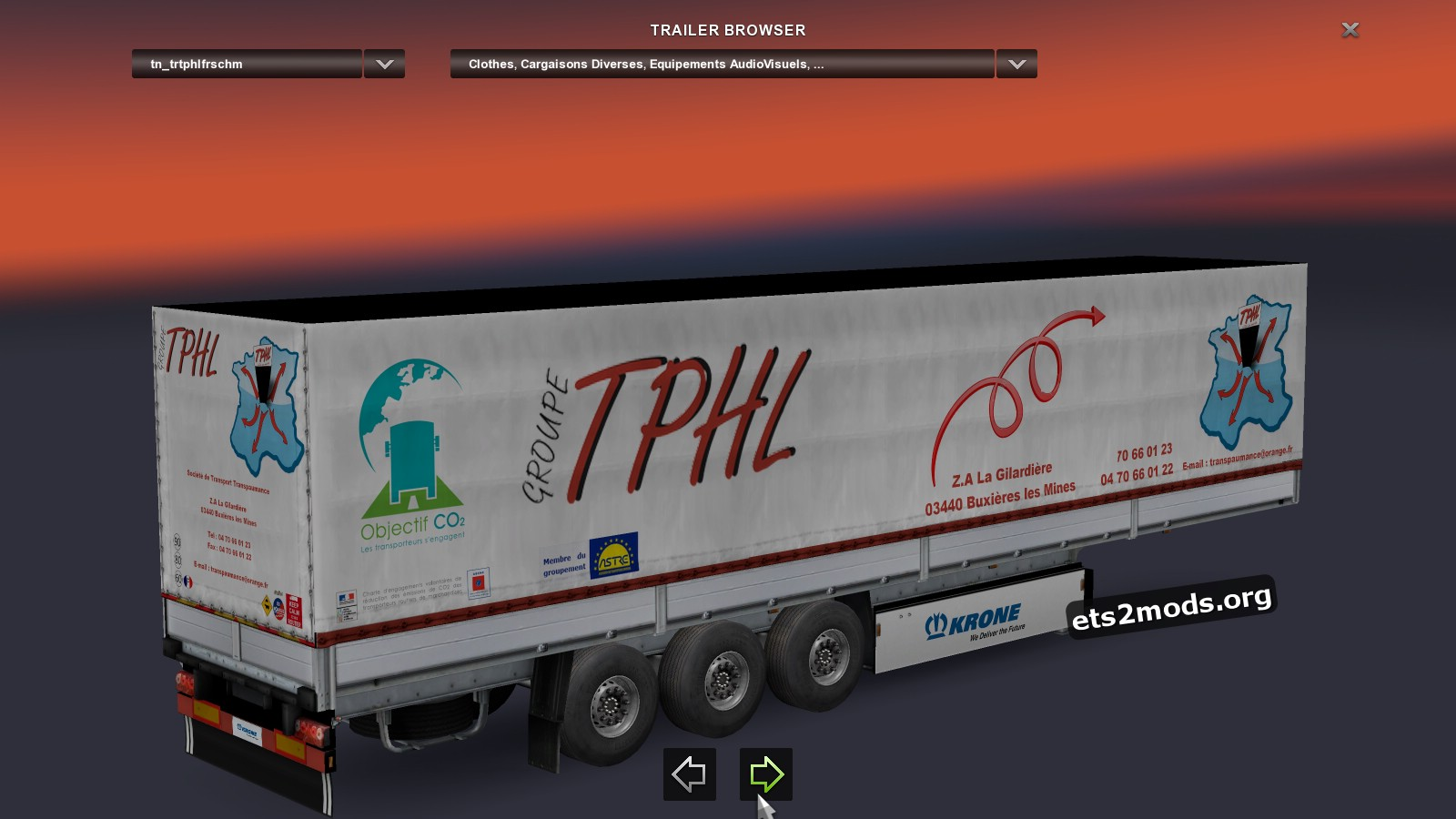 Trailers Pack - French Transports TPHL