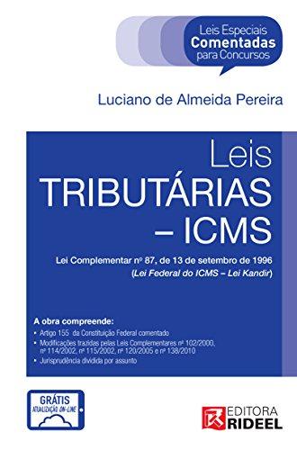 Leis Especiais - Tributárias - Luciano de Almeida Pereira
