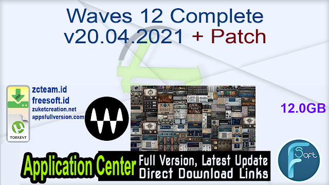 Waves 12 Complete v20.04.2021 + Patch_ ZcTeam.id