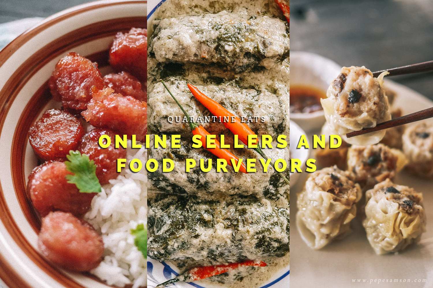 Online Sellers and Food Purveyors Selling Ready-to-Cook Meals