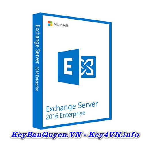 Key Bản Quyền Exchange Server 2016 Enterprise Uy Tín Giá Rẻ.