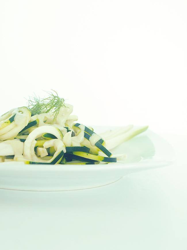 Pasta con calabacin