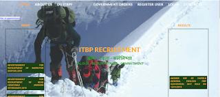 image showing itbp web