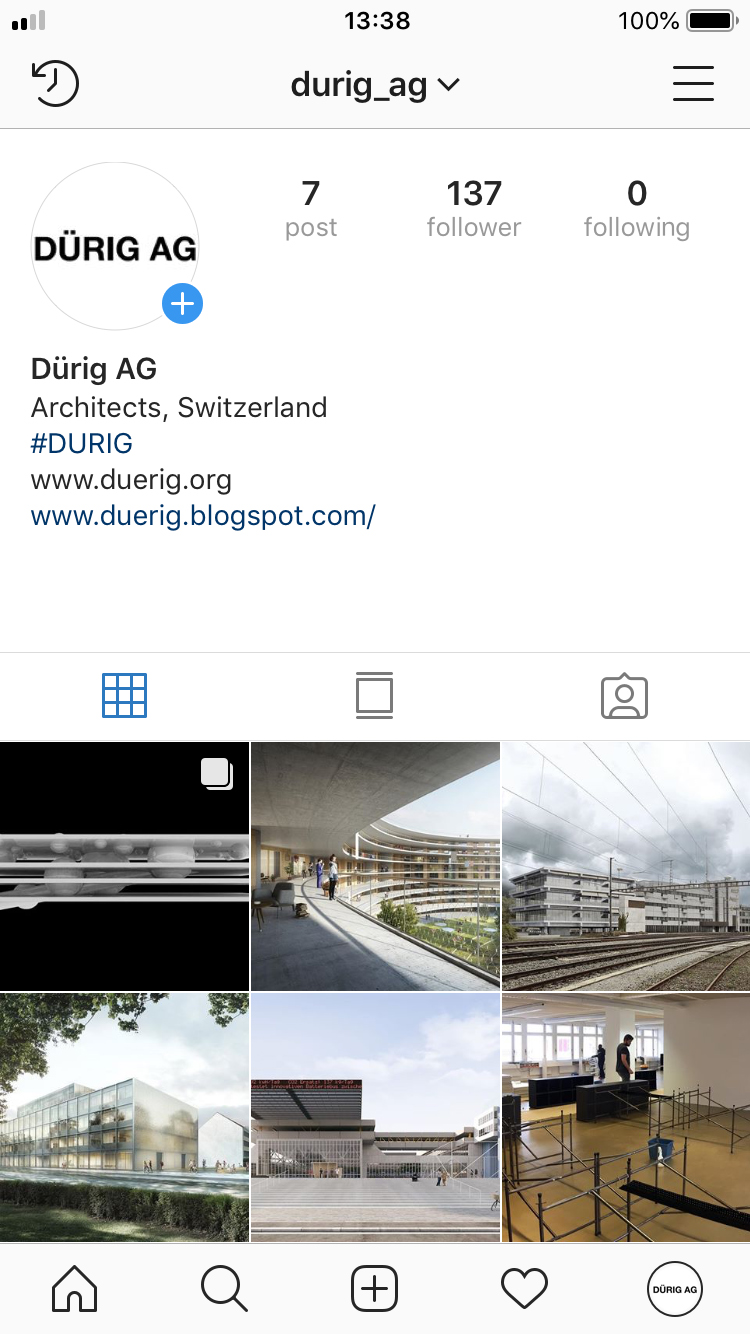 Instagram - #DURIG