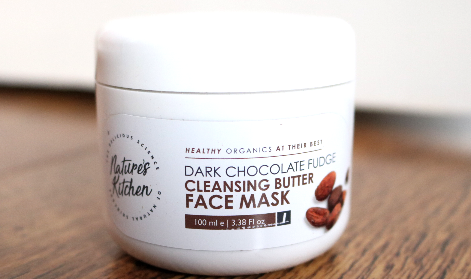 Nature's Kitchen Dark Chocolate Fudge Cleansing Butter Face Mask