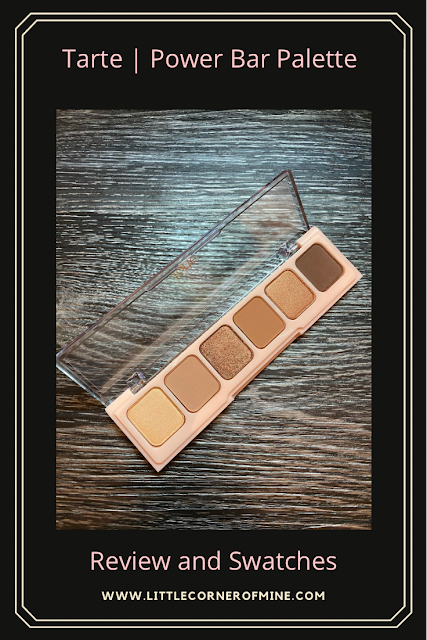 Review and Swatches: Tarte Cosmetics Power Bar Neutral Palette