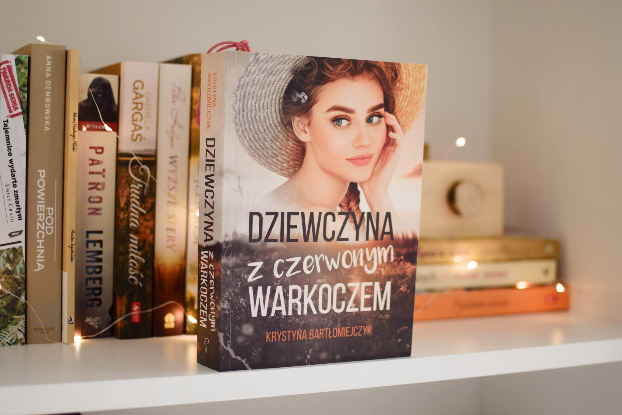 KrystynaBartłomiejczyk, DziewczynaZCzerwonymWarkoczem,powieśćobyczajowa,WydawnictwoProzami,opowiadanie,recenzja,zjawiskaparanormalne,metafizyka,