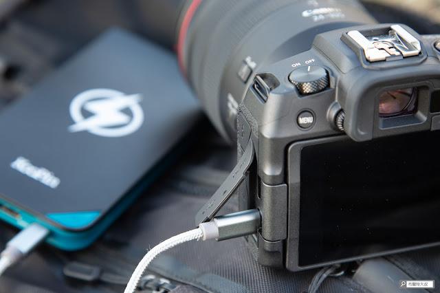 解決 Canon 相機長時間拍攝的供電問題 - Canon EOS RP USB-C 介面無法拍攝時充電