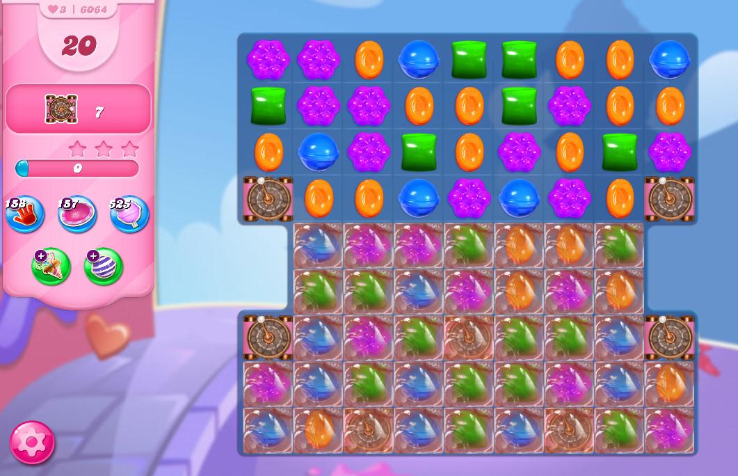 Candy Crush Saga level 6064