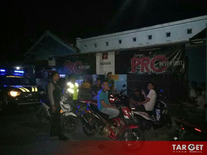 Polsek dan Koramil Puncakwangi Sinergitas Laksanakan Patroli Bersama di Bulan Ramadhan