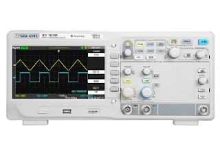 Darmatek Jual Siglent SDS-1102CFL Dual-Channel, 100MHz Bandwidth