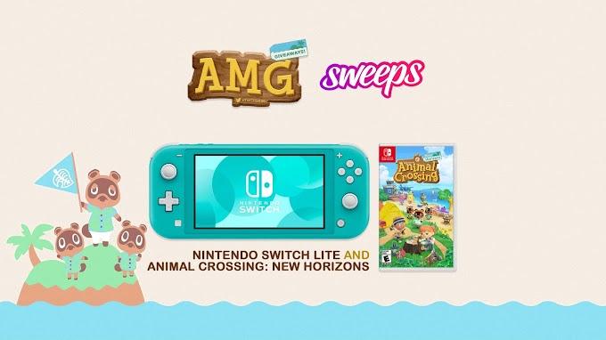 Sorteio do Nintendo Switch Lite + Animal Crossing: New Horizons!