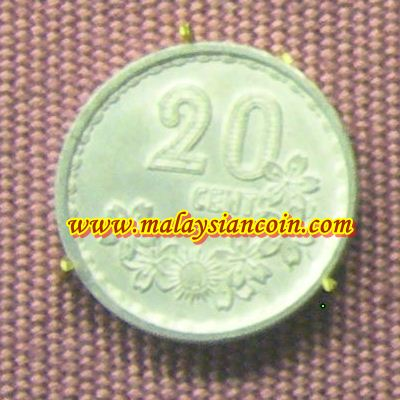 Malaysia 20 cents