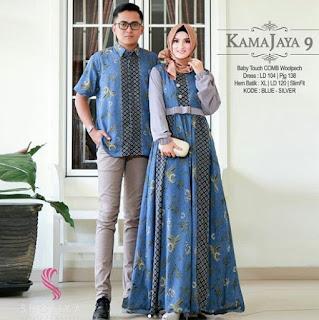 Desain-Model-Gamis-Batik