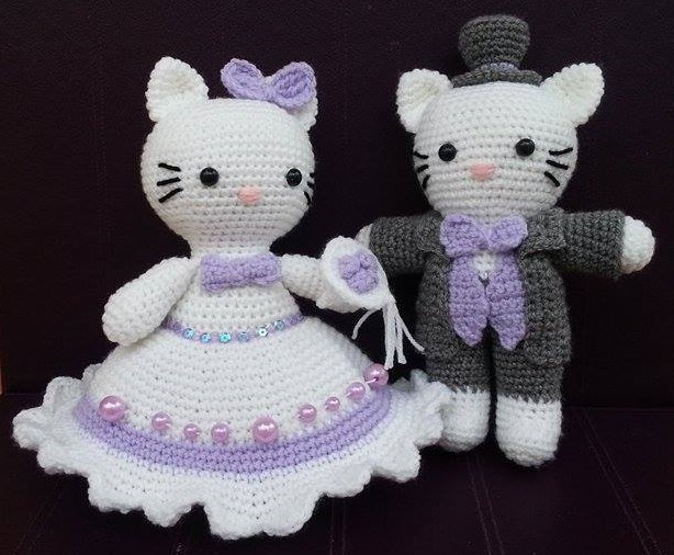 Hello Kitty amigurumi for a friend | Uncinetto hello kitty ... | 506x614