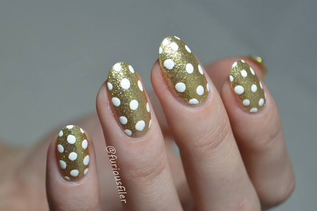 a england and the moonbeams nail art swatch