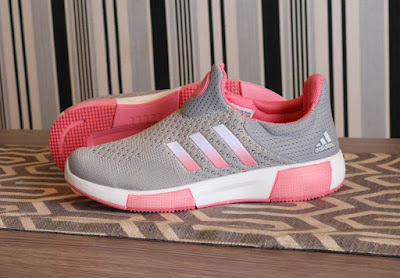 Sepatu Adidas Madoru Boost Women (import) Grey White