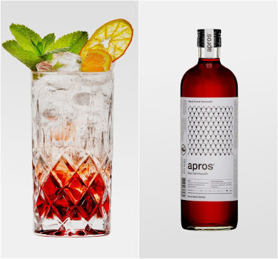 apros Red  Black Forest Vermouth